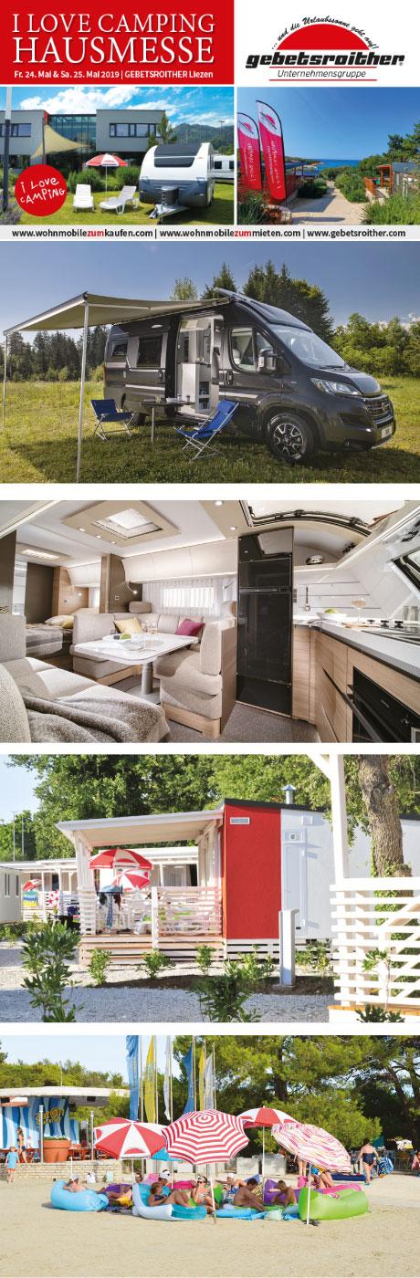 Camping Hausmesse Weissenbach bei Liezen