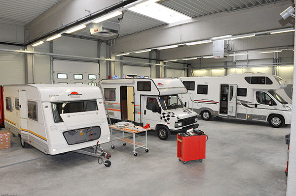 Techniker/in für Campingfahrzeuge
